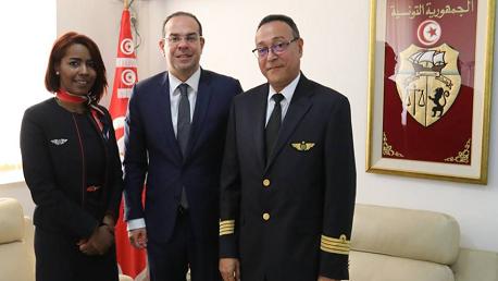 بن غربية يشكر قائد طائرة تصدّى لاعتداء عنصري ضدّ مضيفة