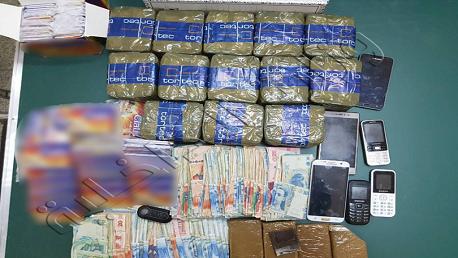 مرناق: حجز 07 كلغ من مخدر الزطلة و600 قرص دواء ومبلغا ماليا