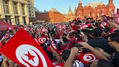 الجماهير التونسية  في موسكو