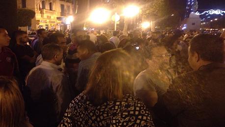 """احتجاجات ليلية أمام الداخلية ضدّ قرار إقالة """"لطفي براهم"""""""