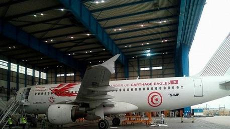 الطائرة التي ستنقل المنتخب التونسي إلى روسيا