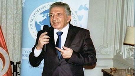 """السفير التونسي لدى الاتحاد الأوروبي """"طاهر شريف"""""""