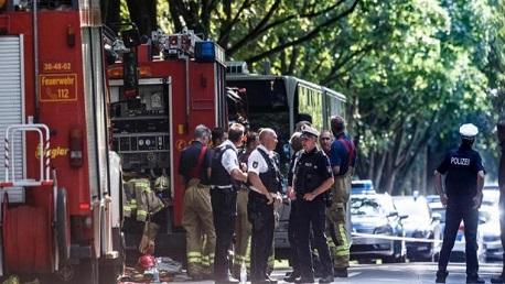 ألمانيا: اعتقال المعتدي بحادث الحافلة ولا معلومات عن دوافعه