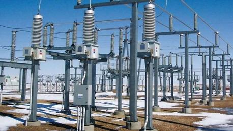 محطة انتاج الكهرباء بالمرناقية