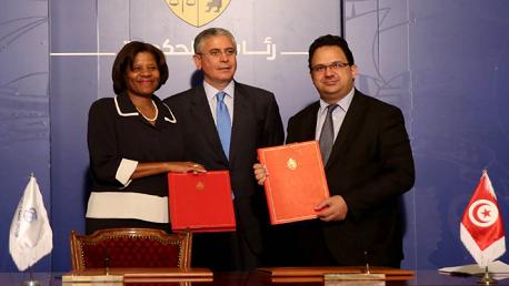 التوقيع على اتفاقيات تعاون بين تونس و البنك الدولي