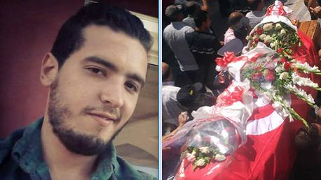 : تشييع جثمان الشهيد أنيس الورغمي إلى مثواه الأخير