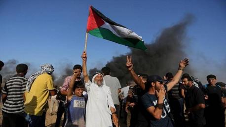 في الجمعة الـ17 لمسيرة العودة: استشهاد 4 فلسطينيين وإصابة 210 آخرين بغزة