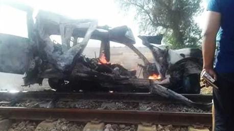 صفاقس: 6 قتلى في حادث إصطدام بين سيارة وقطار