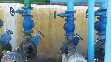 محطة ضخ مياه الشرب
