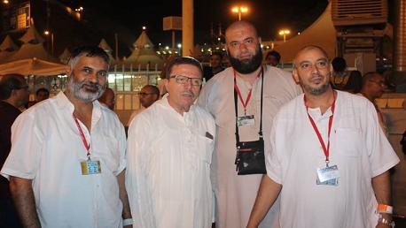 وزير الشؤون الدينية  أحمد عظوم حج