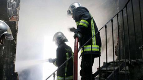 الحماية المدنية حريق