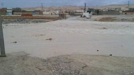 القصرين: انقطاع حركة المرور بين بوشبكة وتلابت إثر فيضان وادي بوحية