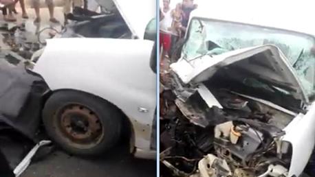 سيدي  بوزيد : وفاة امرأة  و اصابة 8 اخرين في اصطدام سيارتين