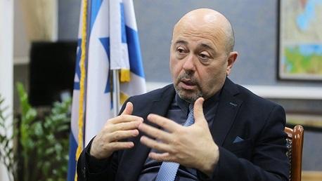 ، السفير الإسرائيلي لدى موسكو