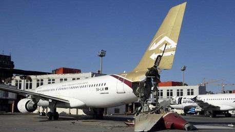 غلق مطار معيتيقة بعد إطلاق صواريخ بالقرب منه