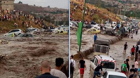 أمطار الجزائر