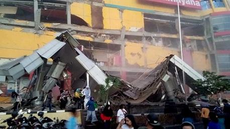 ارتفاع عدد قتلى زلزال وتسونامي إندونيسيا إلى 384 قتيلا