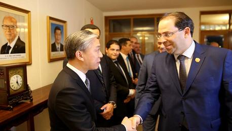 التوقيع الرسمي لمذكرة تفاهم تتعلق بمجموعة من المشاريع الكبرى المزمع انجازها في الجنوب التونسي.