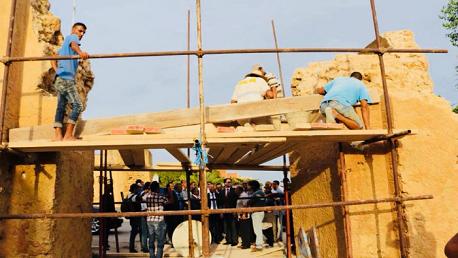 وزير الثقافة يُشرف على انطلاق ترميم قوس القشلة بغار الملح