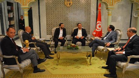 ملف القطاري والشورابي محور لقاء وزير الخارجية بوفد عن نقابة الصحفيين