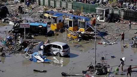 تسونامي إندونيسيا: 2000 قتيل و5 آلاف مفقود