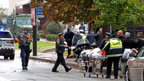 11 قتيلاً في إطلاق نار بكنيس يهودي في بنسلفانيا الأمريكية