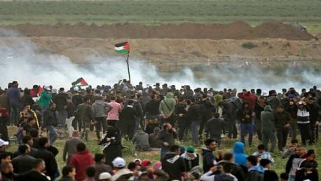 7 شهداء و252 مُصابًا جراء قمع الاحتلال لمسيرات غزة