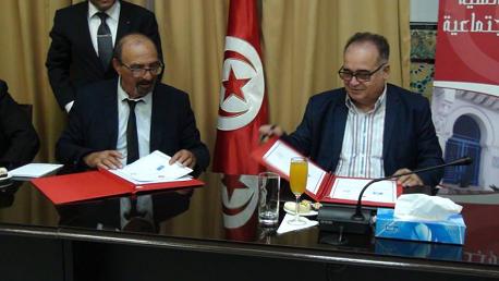 إمضاء اتفاقية شراكة بين وزارة الشؤون الاجتماعية و الرابطة التونسية للدفاع عن حقوق الإنسان