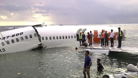 تحطّم طائرة إندونيسية على متنها 188 راكبًا