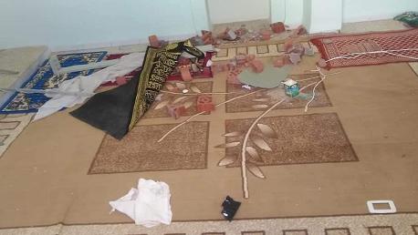 """تعرّض مسجد """"الجمعة"""" بحي أولاد بويحي من معتمدية الرديف ولاية قفصة يوم الأربعاء 10 أكتوبر 2018 إلى محاولة تخريب"""