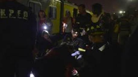 إصابة 320 شخصا في تصادم قطارين في جنوب افريقيا