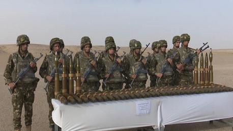 – الجيش الجزائري يكشف 41 قذيفة مضادة للدّبابات ببرج باجي مختار