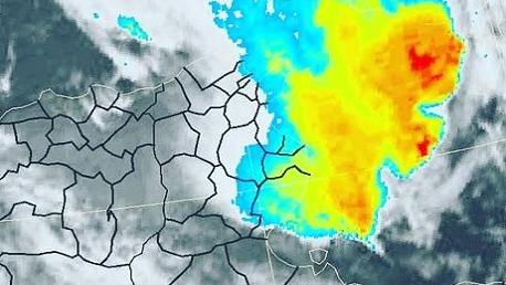 أمطار الرصد الجوي