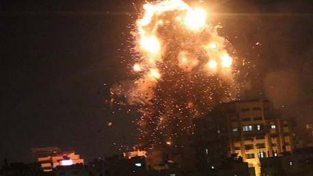 قصف الاحتلال غزة