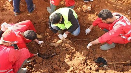 العثور على مقبرة جماعية جديدة في درنة الليبية