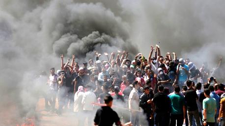 إصابة 40 مواطنا برصاص الاحتلال على الحدود الشرقية لغزة