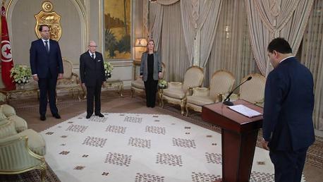 أعضاء الحكومة الجُدد يُؤدون اليمين الدستورية أمام رئيس الجمهورية
