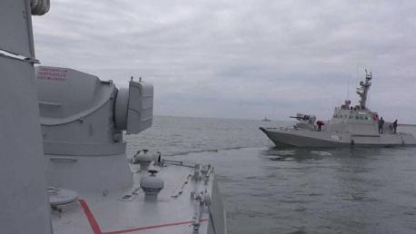 روسيا تحتجز 3 سفن أوكرانية