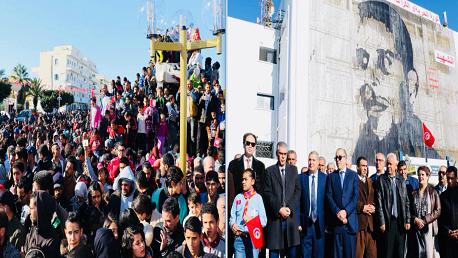 فعاليات الاحتفال بالذكرى الثامنة لاندلاع الثورة في سيدي بوزيد