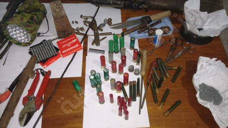 العالية-بنزرت/القبض على شخصيين من أجل اعداد ورشة لأسلحة تقليدية ا