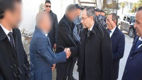 القرجاني ـ تونس/ وزير الداخلية يشرف على اجتماع أمني
