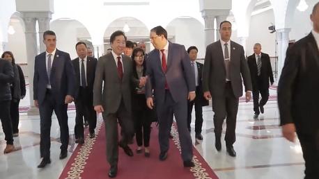 هي الأولى من نوعها: الوزير الأول الكوري الجنوبي يحلّ بتونس