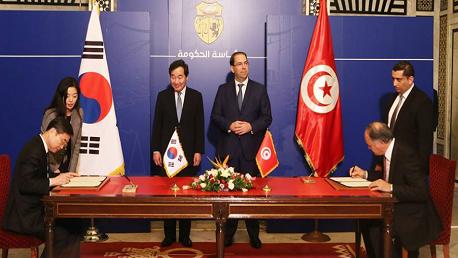 توقيع 3 اتفاقيات تعاون ومذكرتيْ تفاهم بين تونس وكوريا الجنوبية