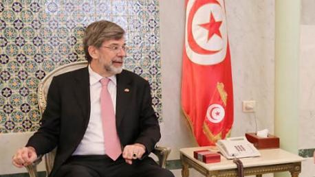 سفير سويسرا بتونس ايتيان ثيفوز Etienne Thevoz.