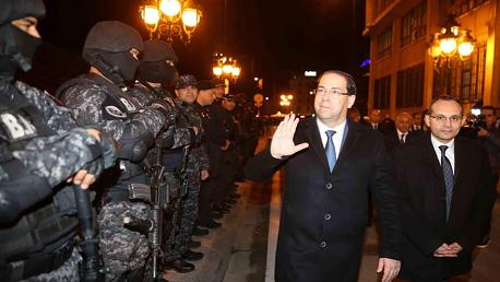 الشاهد يتفقّد جاهزية فوج مجابهة الإرهاب على تأمين رأس السنة الجديدة