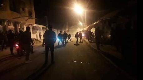 احتجاجات ليلية القصرين