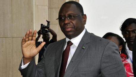 """رئيس جمهورية السنغال """"ماكي سال"""" Macky"""