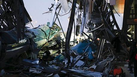 تركيا قطار Turkey: 4 killed, 43 injured in high-speed train crash