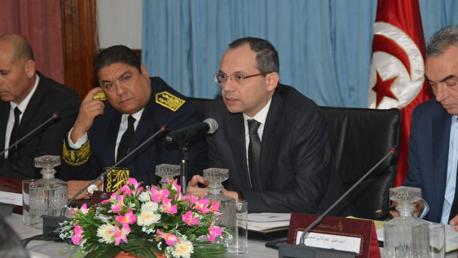 وزير الداخلية يشرف على انعقاد المجلس الجهوي الاستثنائي للأمن بولاية الكاف