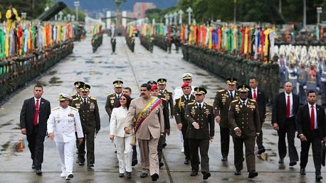الجيش الفنزويلي يرفض الاعتراف بخوان غوايدو رئيسا لفنزويلا